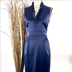 Jessica Howard Midnight Blue Midi Dress